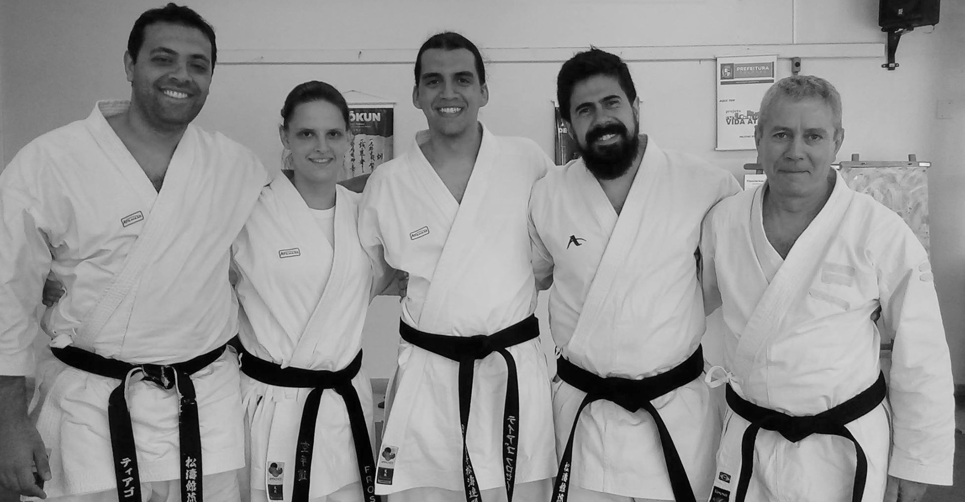 shinjigenkan brazil and canada during dan grading exam