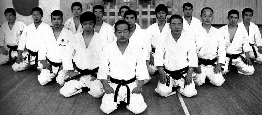 group of karate masters