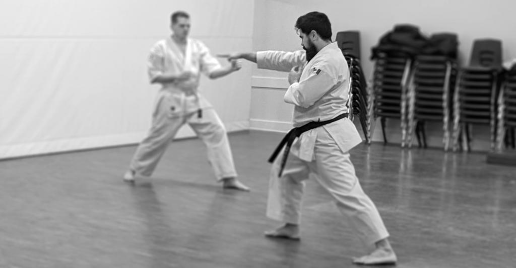 your first karate class