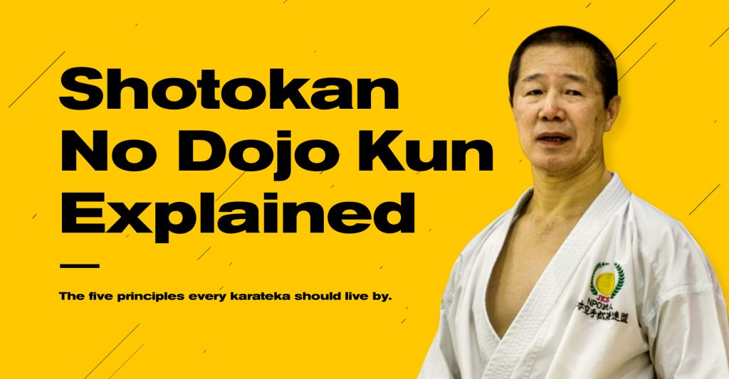 The 5 Karate Dojo Kun: The best things you can accomplish with them 2021